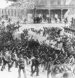 1885: Anti-Chinese riots in Seattle, Washington