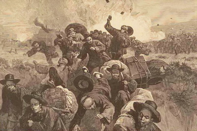1885: Chinese are killed at the Rocks Springs Massacre